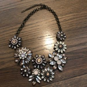 Baublebar for Anthropologie beaded floral necklace